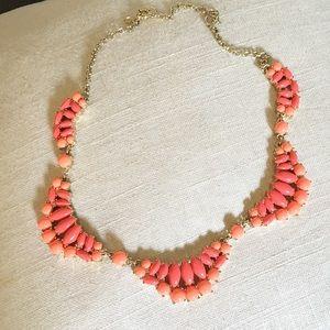 J. Crew coral necklace