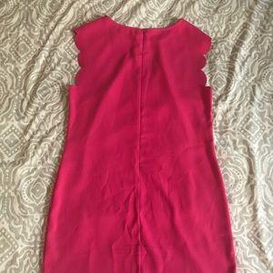 Impeccable pig fuschia shift dress