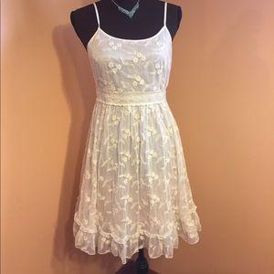 Delicate romantic lace dress