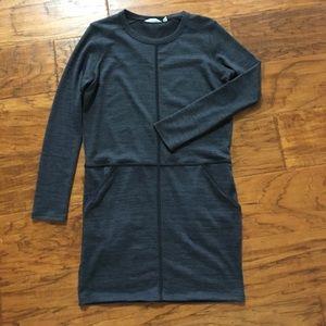 Athleta sz medium sweatshirt dress