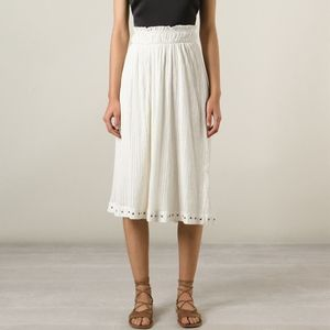 NWT Isabel Marant Etoile - Thalia Grommet Skirt
