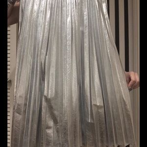 Zara sliver skirt