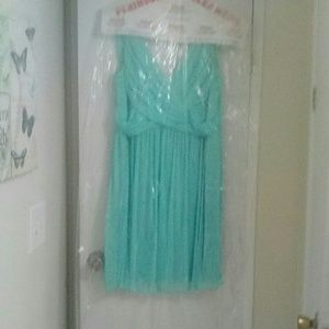 David's bridal spa blue