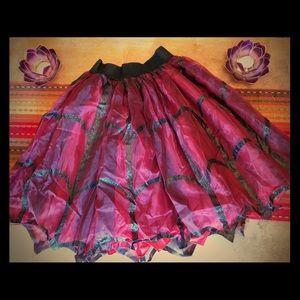 Halloween witch skirt tutu.