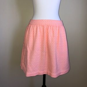 Ella Moss Anthropologie skirt size medium pink