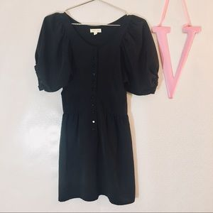 Urban outfitters silence & noise black dress