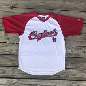 Cardinals Spell Out jersey tee