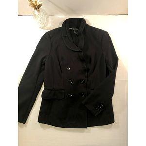White House Black Market Black Jacket/Blazer- Sz 8