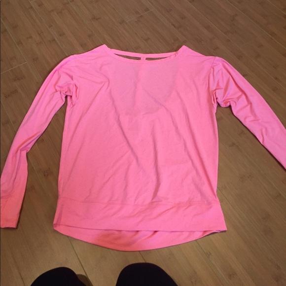 235f21070ee96 Hot pink VSX T-back open back top XS