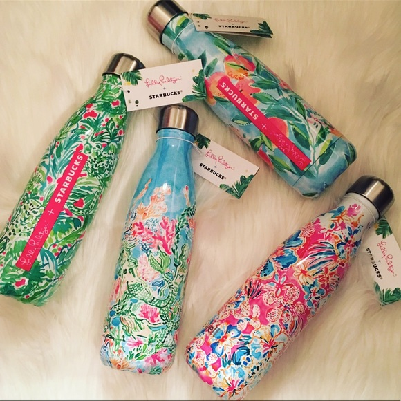 624c0253ab Lilly Pulitzer Starbucks S'well Accessories | Lilly Pulitzer X ...