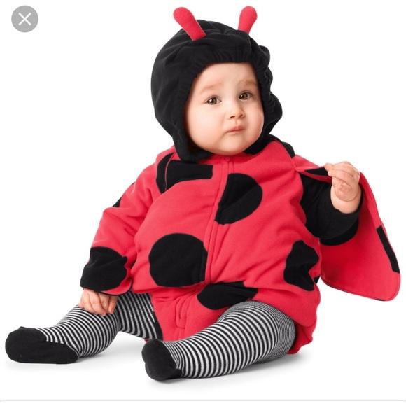 carters ladybug halloween costume