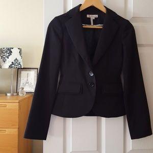 bcbgeneration career blazer black size 0