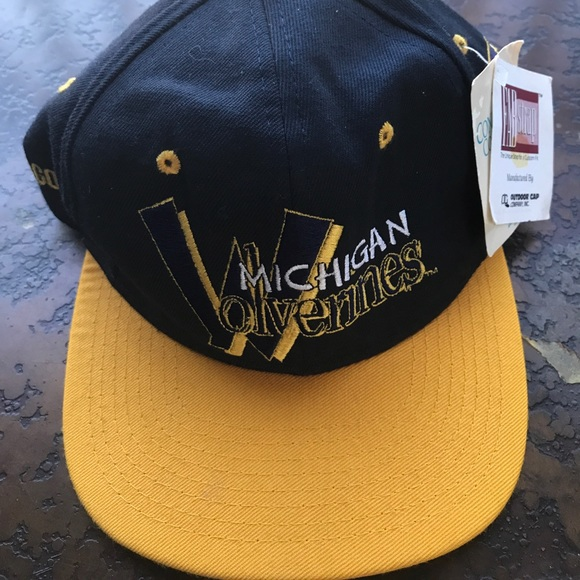 56b3c7cd387 ... germany michigan wolverines strap navy football hat new 4a9f8 62a9b  discount ...