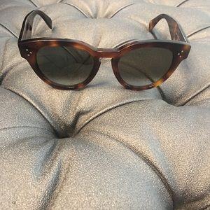 5d13f46733740 Celine Accessories - Celine Havana Brown sunglasses