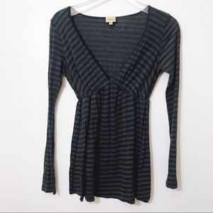 Ella Moss || Striped Long Sleeve Top