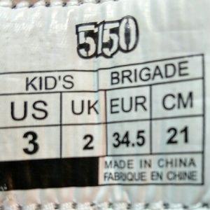 5150 Shoes - 5150 Brigade model Kids snowboard boots