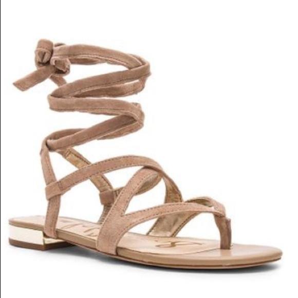 cf617117f Sam Edelman Davina Lace Up Leather Sandals