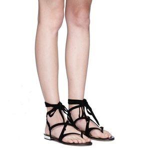 951c0c6a2 Sam Edelman Shoes - Sam Edelman Davina Lace Up Leather Sandals