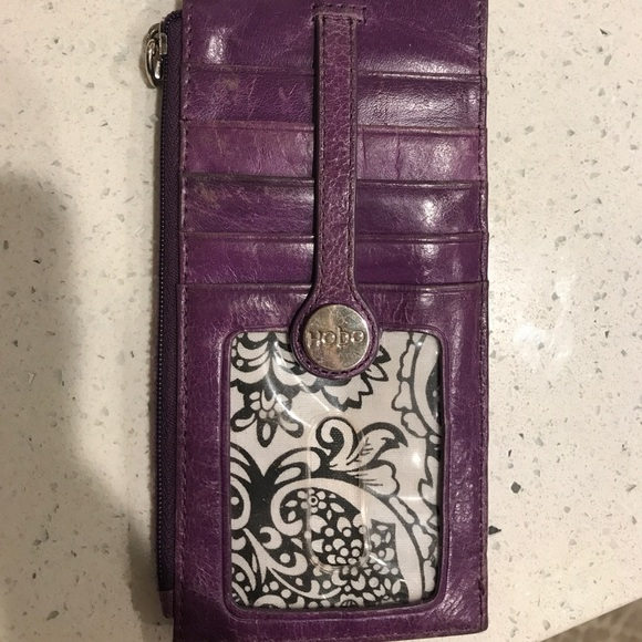 purchase cheap f6cfd 2064e Hobo wallet/ card holder, purple