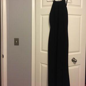 Calvin Klein scoop back formal gown.