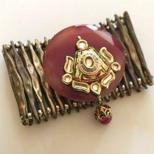 Jewelry - Bejeweled Stretch Cuff