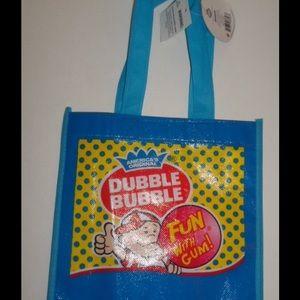Dubble Bubble Blue Halloween Tote Bag