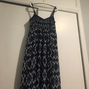 Maxi Printed Dress - Worn once