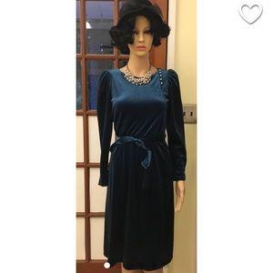 fa67e8bd3712 Dresses & Skirts - 1980s does 1920s Royal Blue Dress