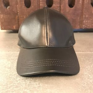 996a6ee2 Emstate Accessories | Genuine Cowhide Leather Baseball Cap | Poshmark