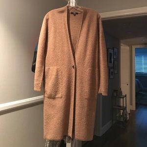 Barely worn Uniqlo camel jacket