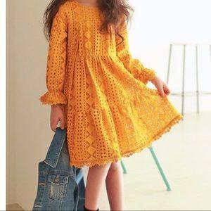 Other - Girls mustard dress