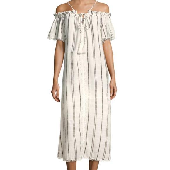 7da4116bfd Red Carter Dresses | Cotton Striped Dress | Poshmark