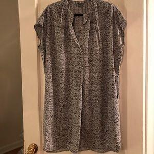 VINCE. Silk Sheath dress