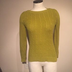 Green Banana Republic factory sweater