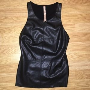BAILEY 44 Faux Leather Top