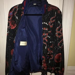 796385685 Gucci Jackets & Coats - Gucci pre-fall '17 RTW Space Snake Windbreaker
