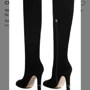 2db92d967cf Chanel suede knee high boots brand new in box