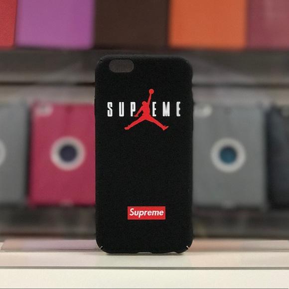 new arrival 768d5 e7726 Jordan x Supreme IPhone 6-8+ Case-Black Boutique