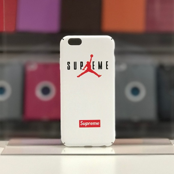 735cc61a6ae03 Jordan X Supreme IPhone 6-8+ Case-White Boutique