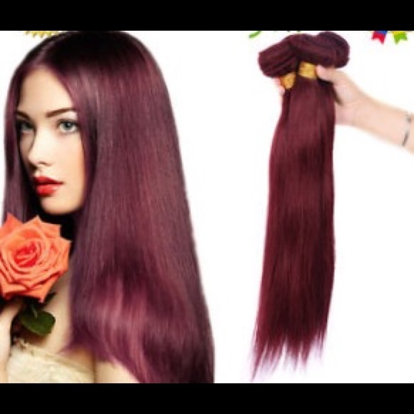 Divine Hair Accessories Burgundy Hair Extensions Weave Poshmark