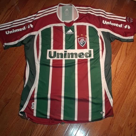 922372388 adidas Other - Retro Adidas Fluminense FC Soccer Club Jersey