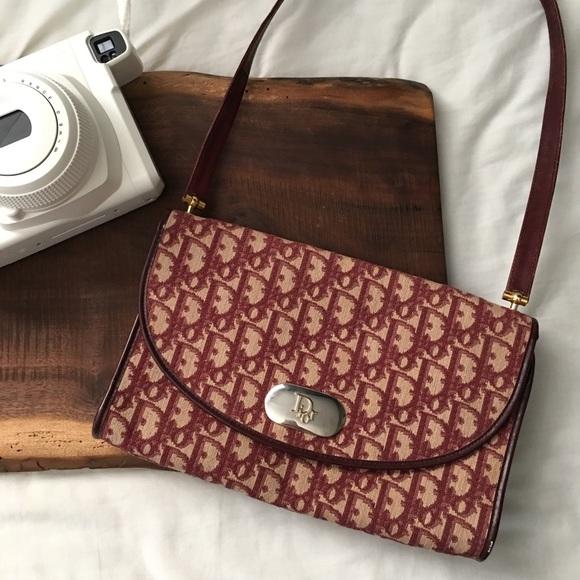 b8aa82d5030a Christian Dior Handbags - Vintage Dior Flap Convertible Clutch