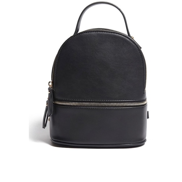 acc077fd4715 Forever 21 Handbags - SMALL   MINI FAUX LEATHER BACKPACK