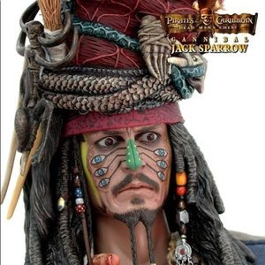 New Disney Cannibal Jack Sparrow Accessory KitBoutique for sale