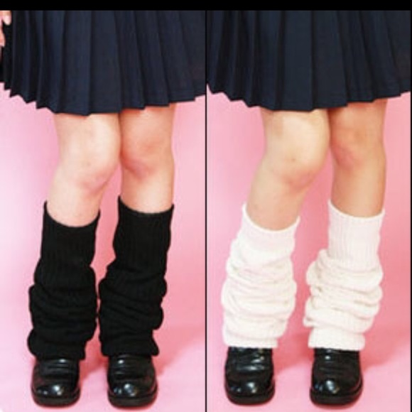 8c710c91a6e Accessories - Slouch socks Japanese school girl thigh high