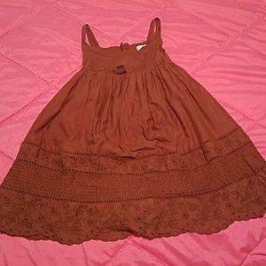 Brown Girls Dress
