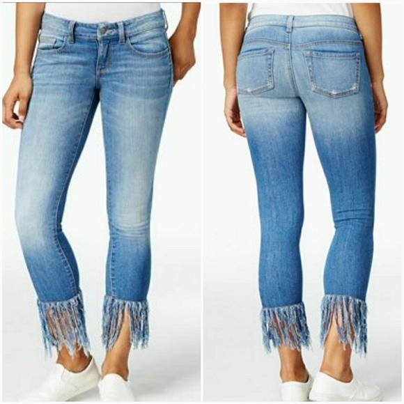 The Best Fringe Hem Skinny Jeans Images