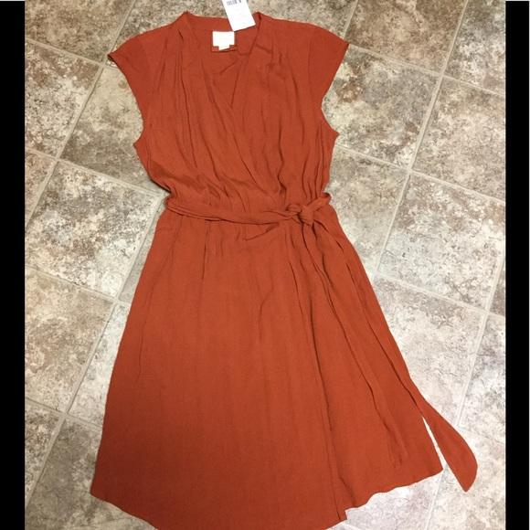76588bcacf31 Anthropologie Dresses | Maeve Noronha Wrap Dress Medium New | Poshmark