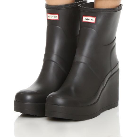 954d906f6bbc Hunter Boots Shoes - Hunter Original Short Mid Wedge Rain Boot