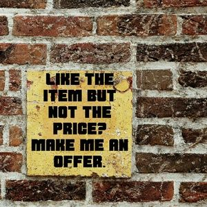 Other - Make me a reasonable offer. I'll accept or counter